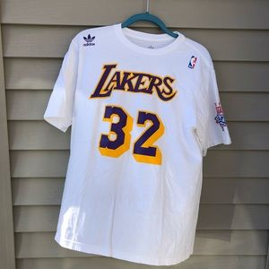 Vintage Adidas Lakers Magic Johnson Tee